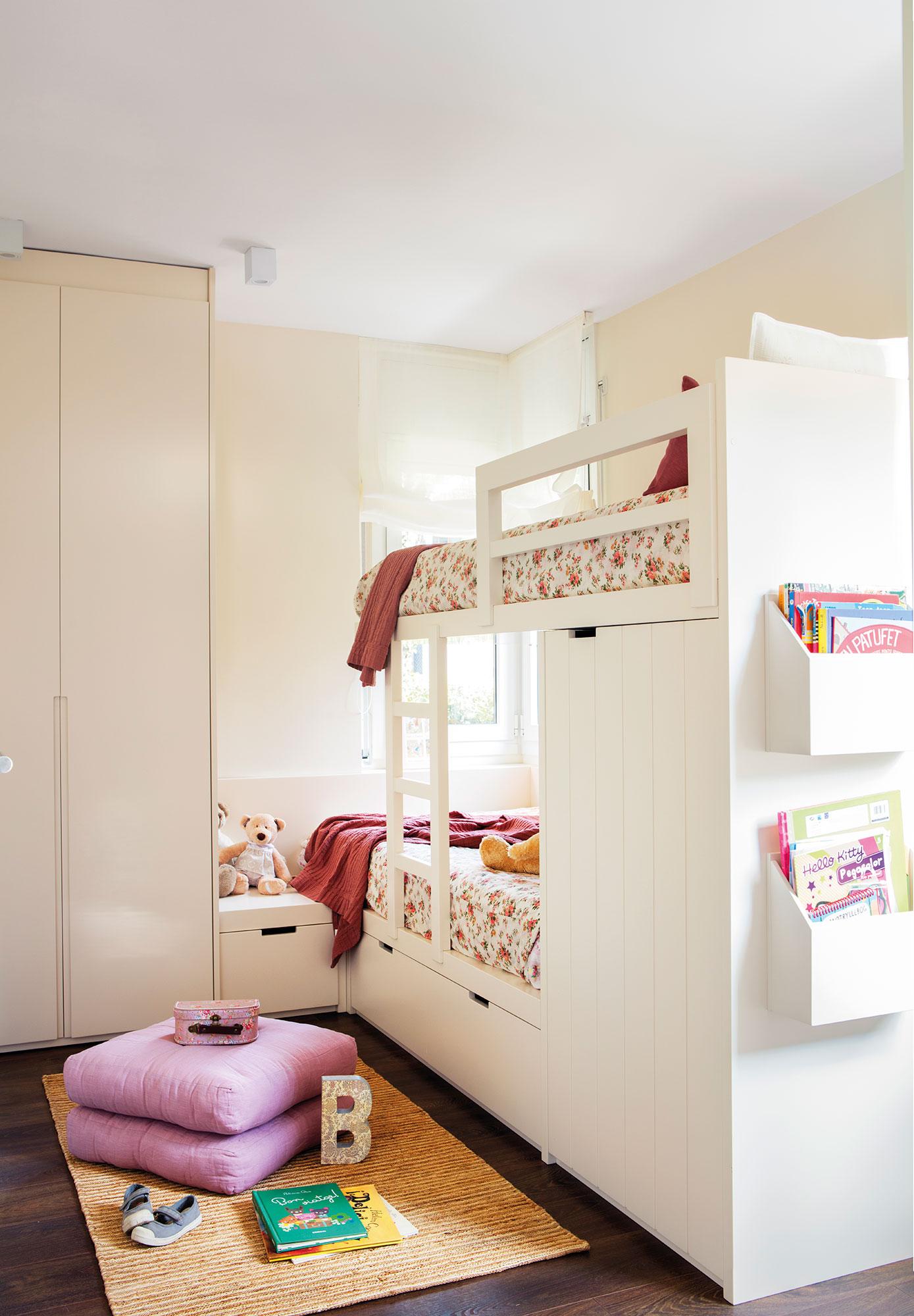 Claves para decorar la habitaci n de los ni os de beb a - Dormitorio infantil nino ...
