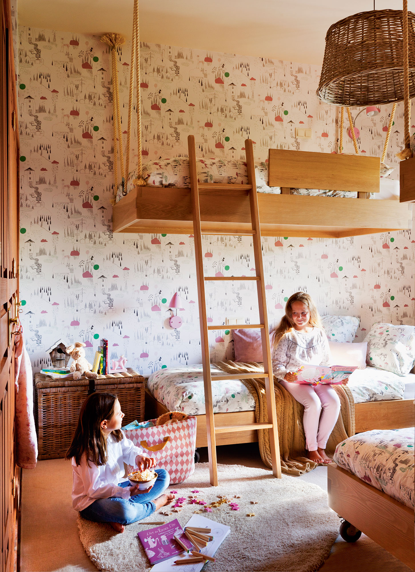 Habitaciones infantiles c mo cambian con el tiempo - Habitaciones con tres camas ...