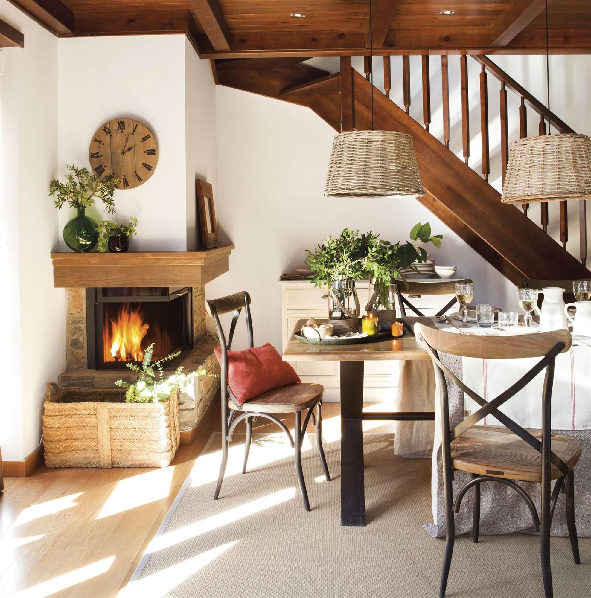 Instalar chimenea en piso beautiful chimenea suspendida - Poner chimenea piso ...