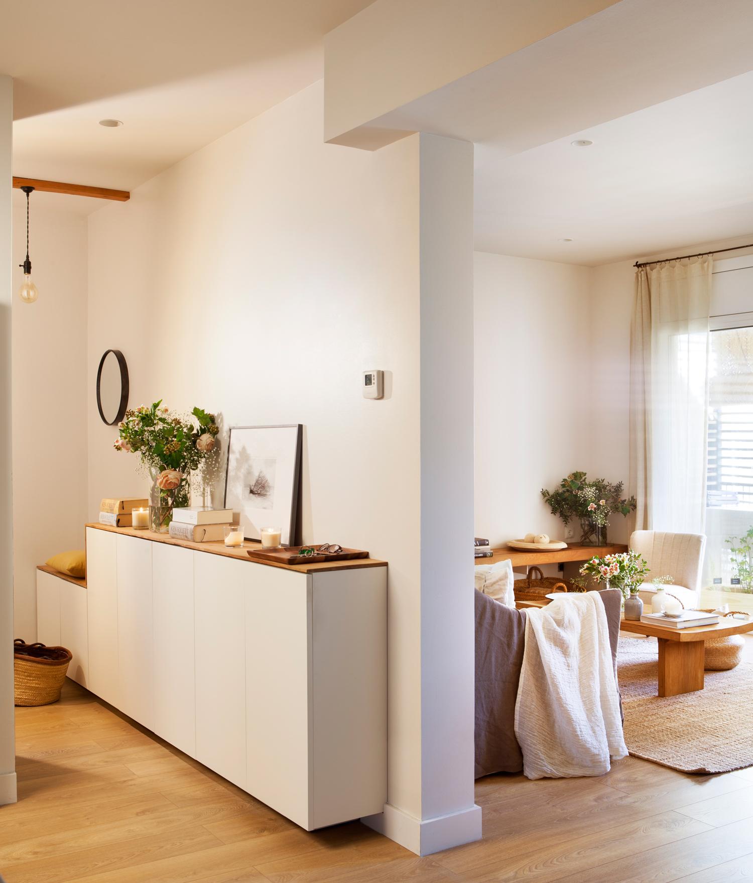 10 Ideas Geniales Para Recibidores Peque Os # Muebles Recibidor Ikea