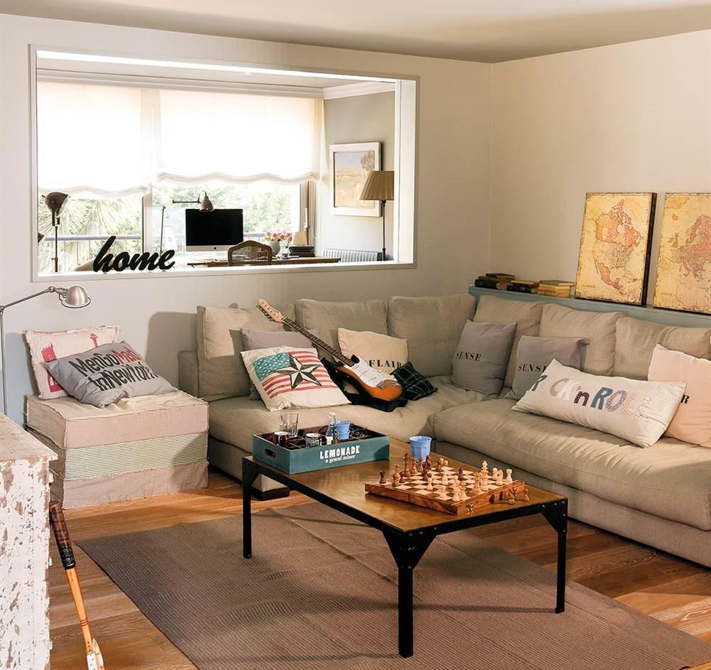 C mo ampliar espacios con huecos en paredes y tabiques a for Separar cocina salon ideas