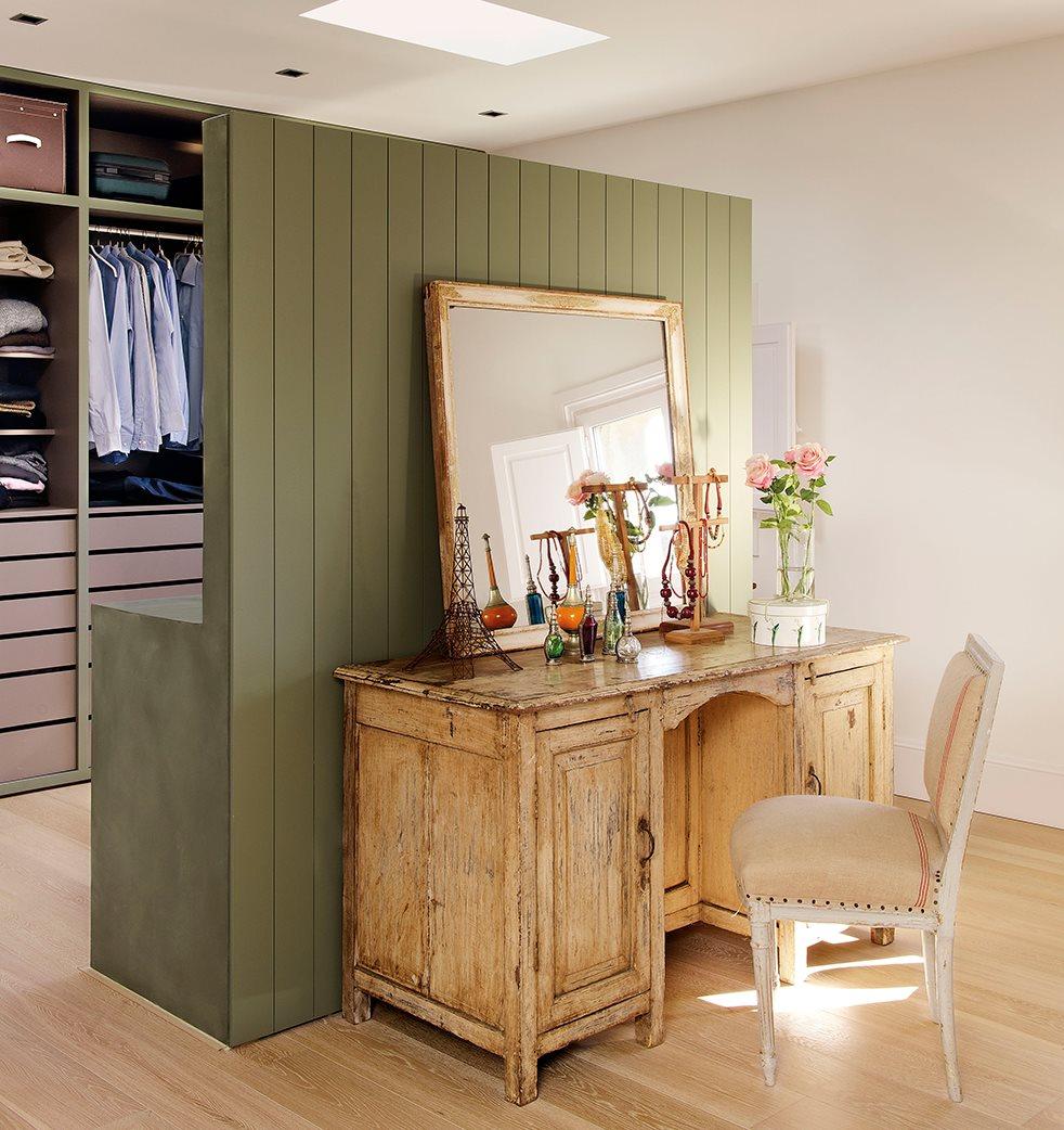 C mo ampliar espacios con huecos en paredes y tabiques a media altura - Dormitorio vestidor ...
