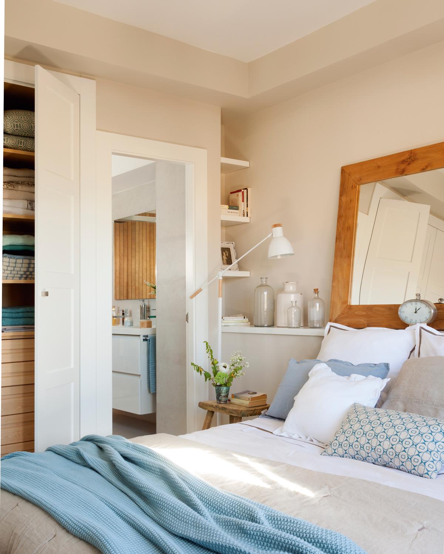 10 ideas geniales para dormitorios peque os Dormitorios matrimoniales pequenos