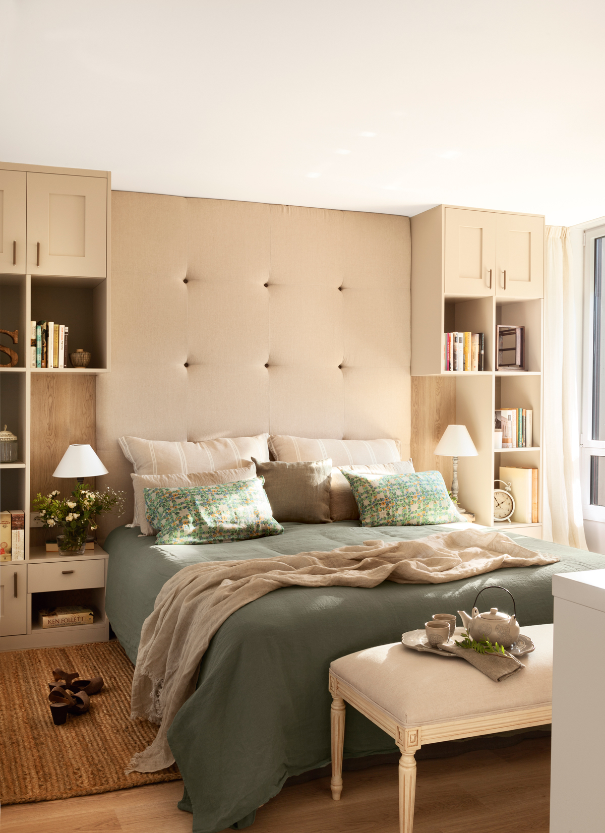 10 ideas y consejos para decorar dormitorios peque os - Ideas de cabeceros de cama ...