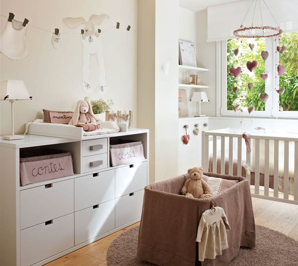 Claves para decorar la habitaci n de los ni os de beb a - Cuarto de bebe ...