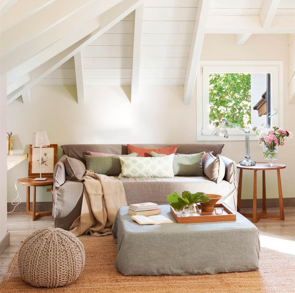 10 ideas geniales para salones peque os - Sofas para salones ...