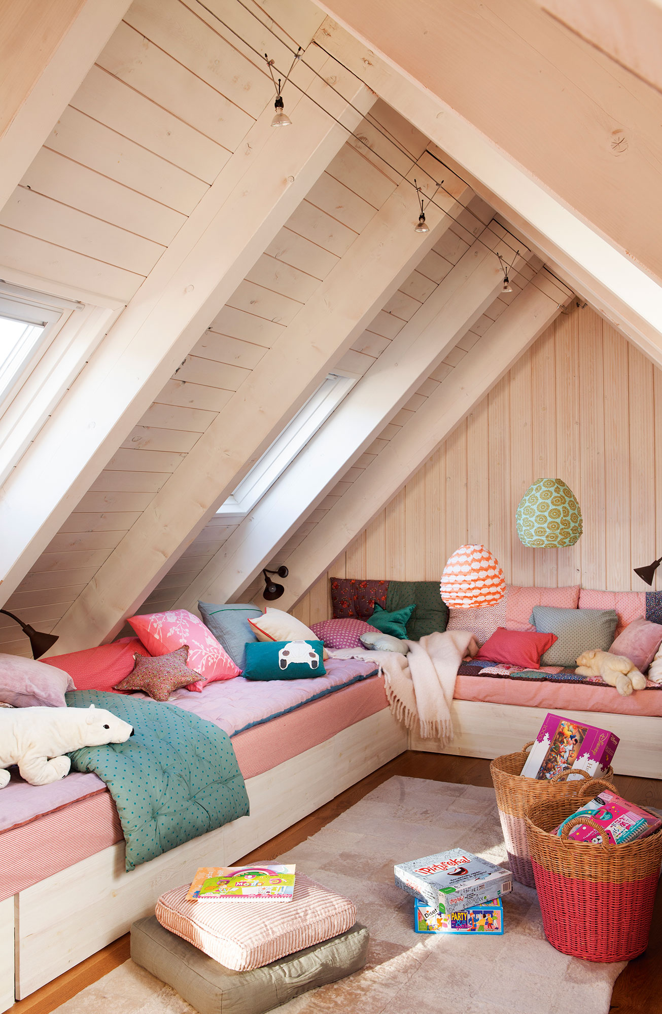 Dormitorios infantiles 7 buenas ideas para compartir - Dormitorio infantil dos camas ...