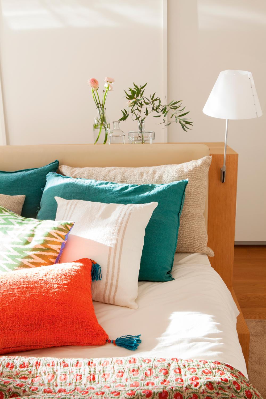 Tres dormitorios para so ar - Cama sobre armario ...