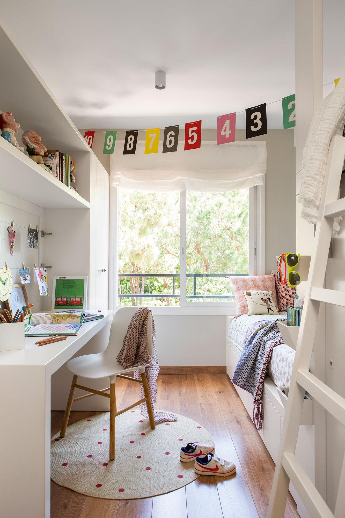 Estores habitacion juvenil stunning estores y cortinas - Habitacion tren juvenil ...