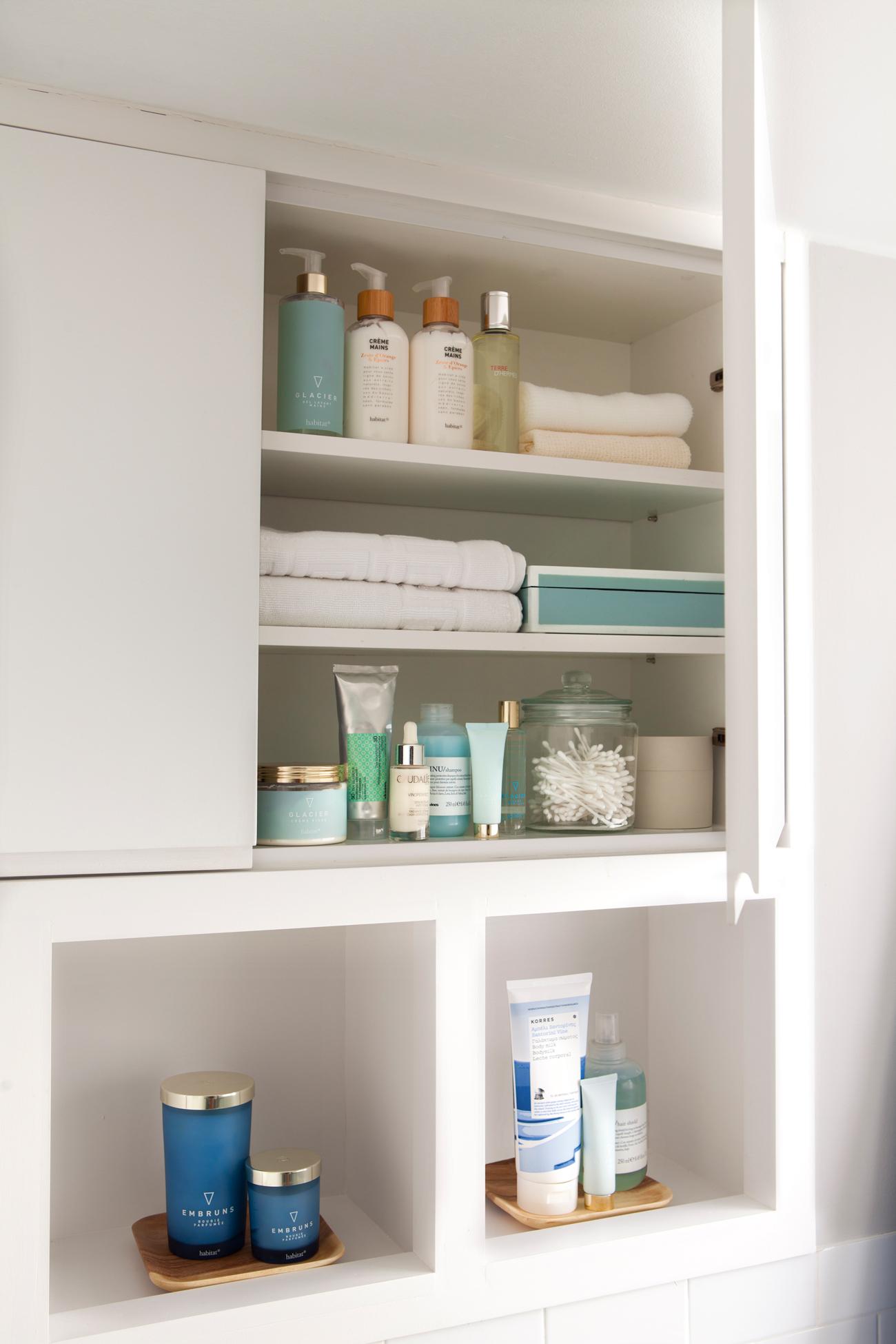 Muebles ba o decoraci n accesorios mamparas y azulejos - Armarios de pared para banos ...
