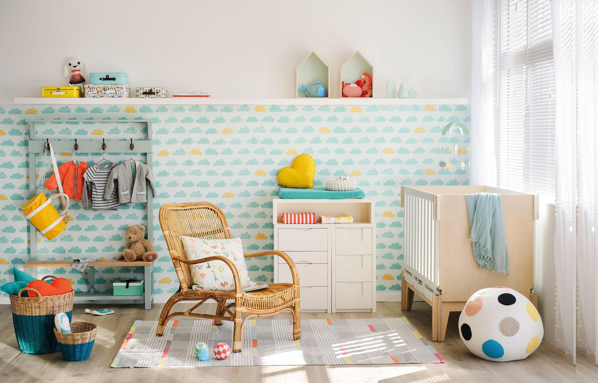 La habitaci n del beb consejos y trucos para decorarla for Color del dormitorio de los padres