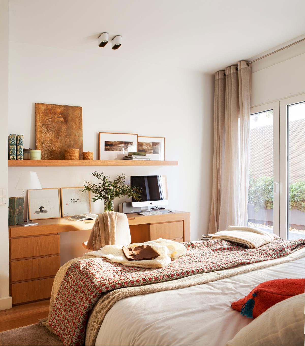 Ideas para crear un rinc n de estudio inspirador for Escritorio dormitorio matrimonio