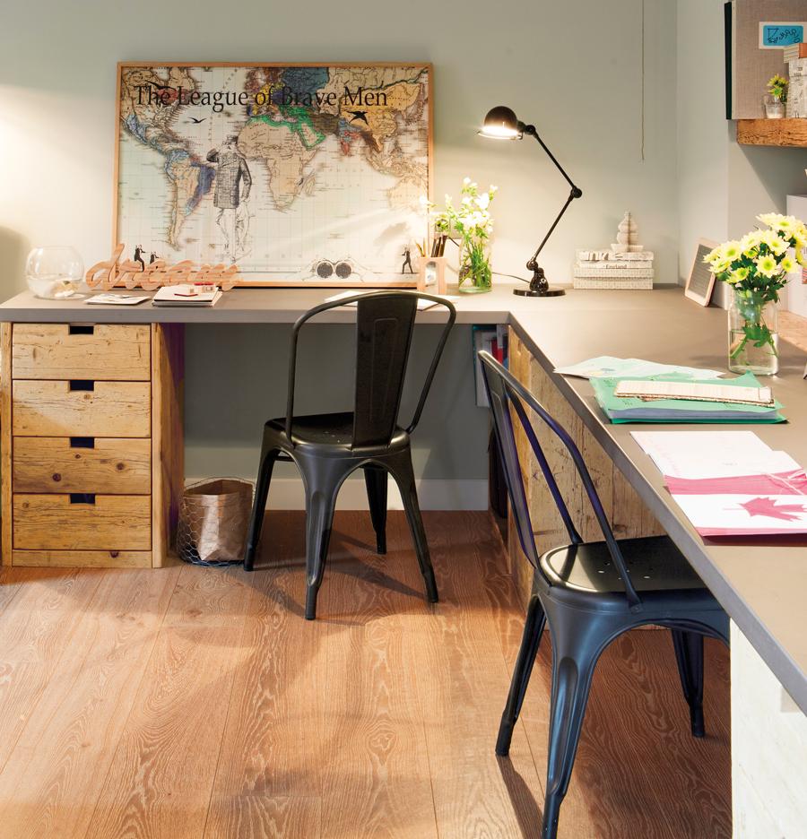 Estudios fotograf as y art culos sobre decoraci n de estudios en casa - Escritorios de pared ...