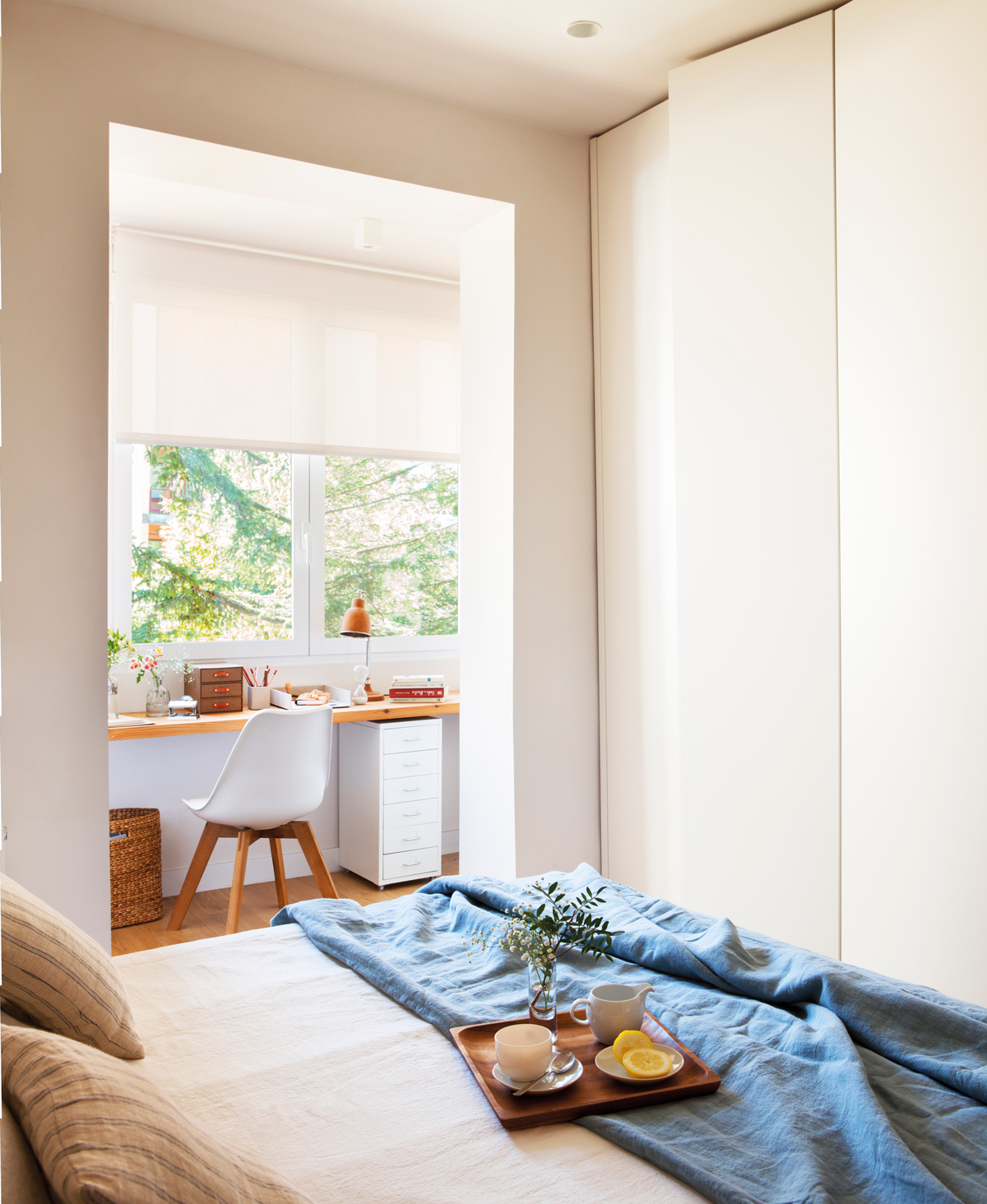 Ideas para crear un rinc n de estudio inspirador - Escritorio dormitorio ...
