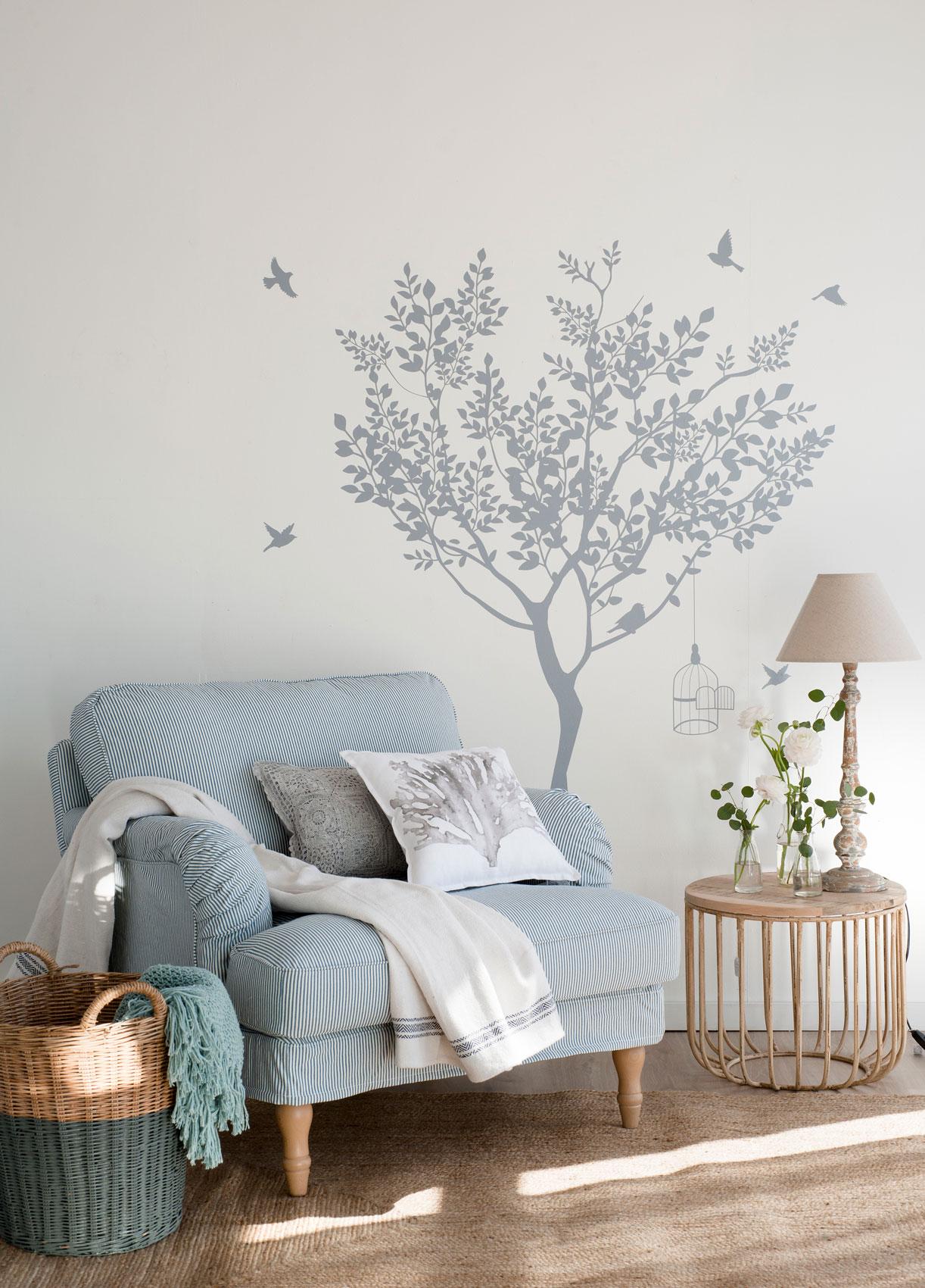 C mo decorar la pared y sumar personalidad a tu casa sin - Como adornar una pared ...