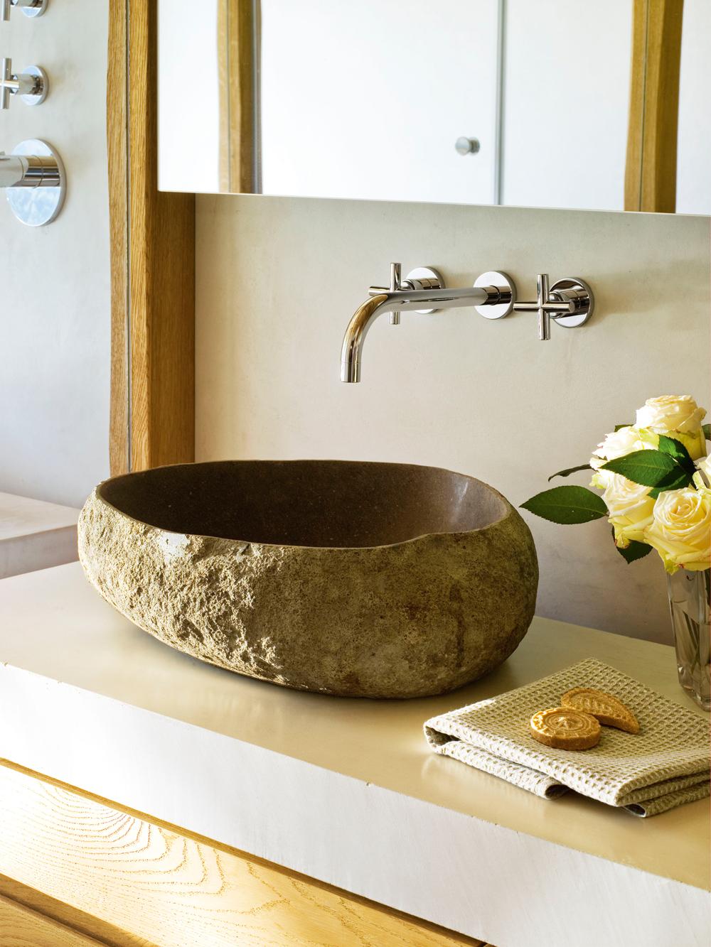 Un lavamanos para cada ba o - Lavamanos de piedra ...