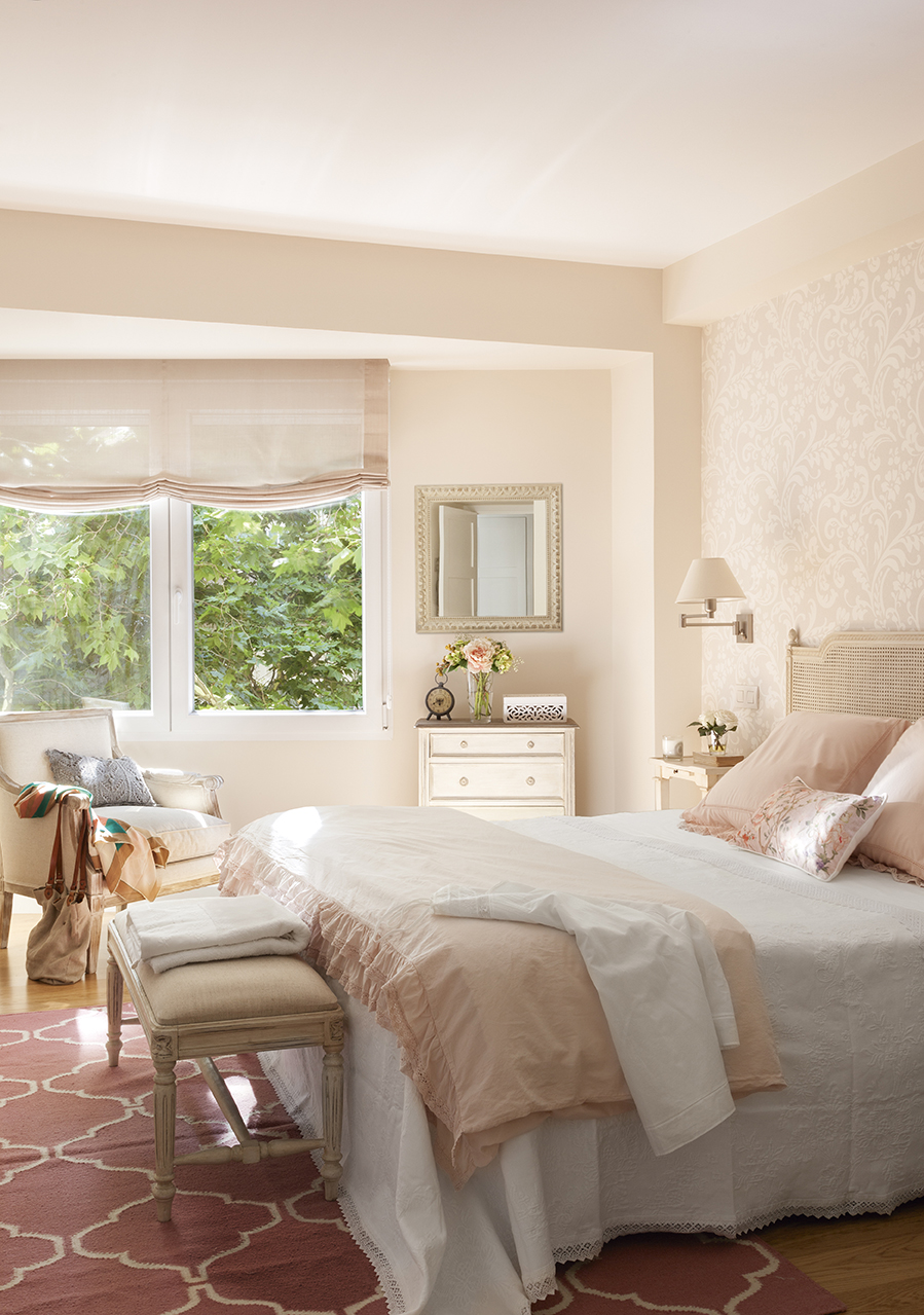 Dormitorios decorados seg n el feng shui para mantener for Recamaras rosas