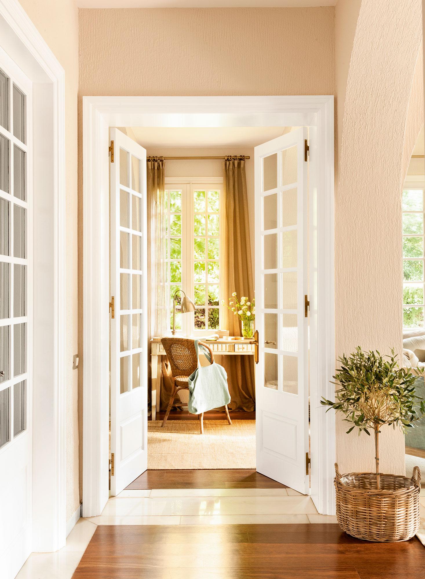 C mo renovar las puertas de casa for Puertas interior economicas
