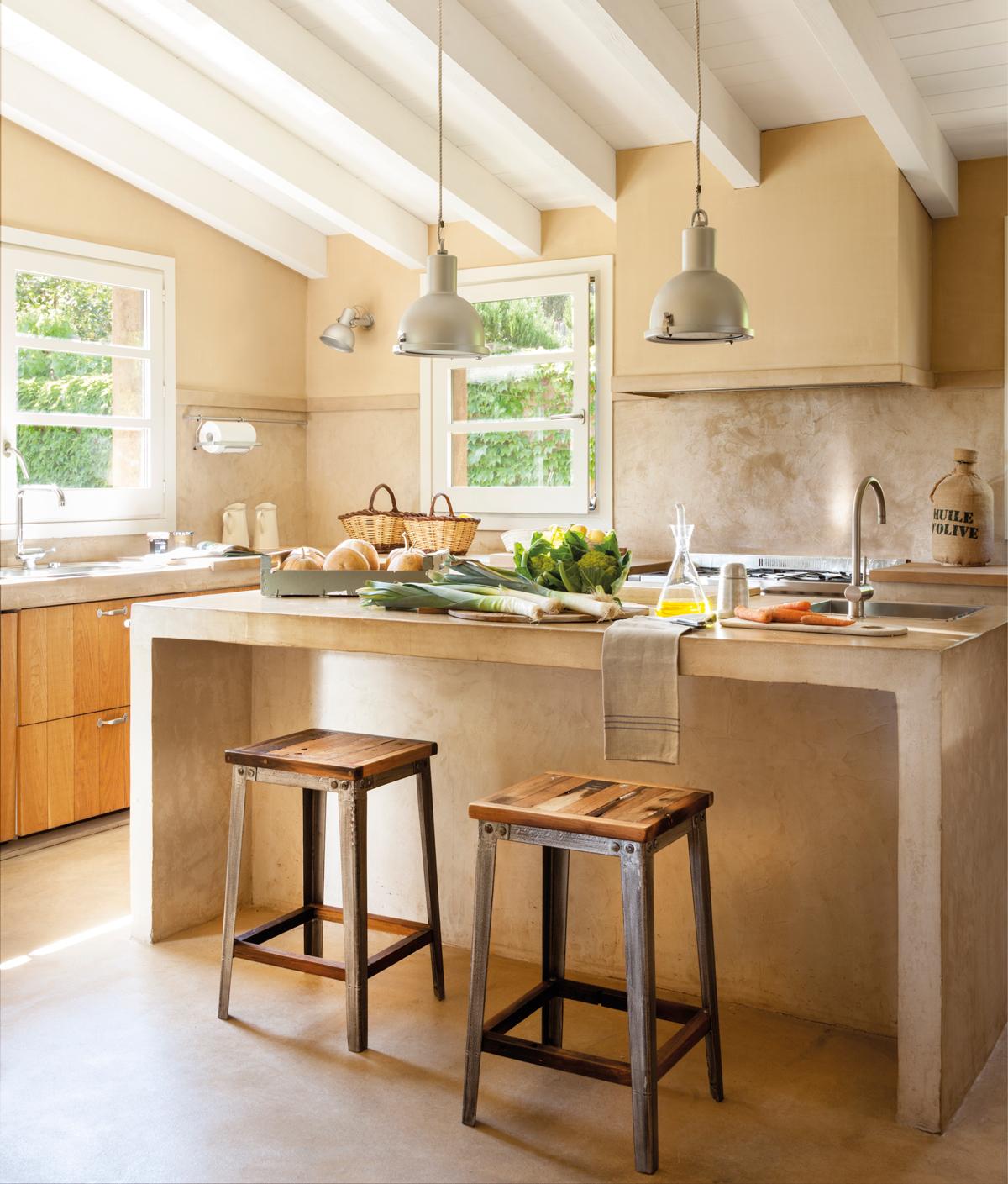 Image Of Muebles De Cocina Hechos De Obra 20 cocinas rústicas ...