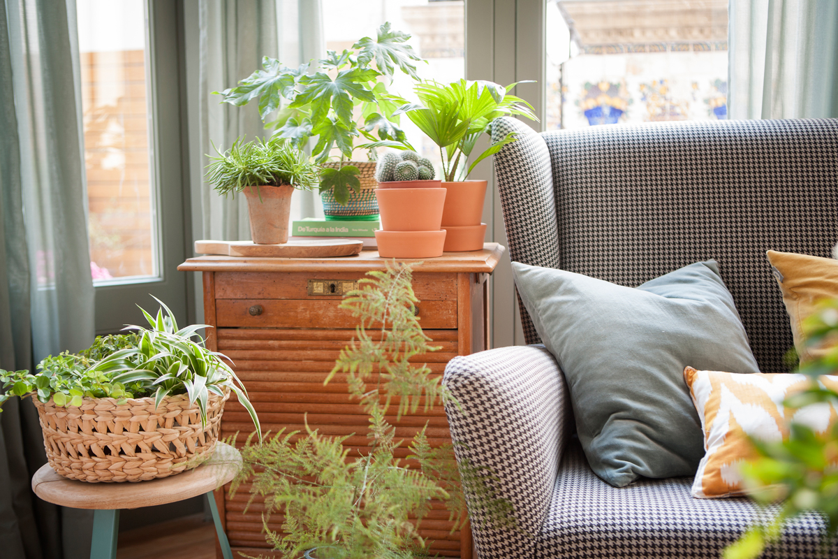 Rincones para desconectar - Mueble para plantas ...