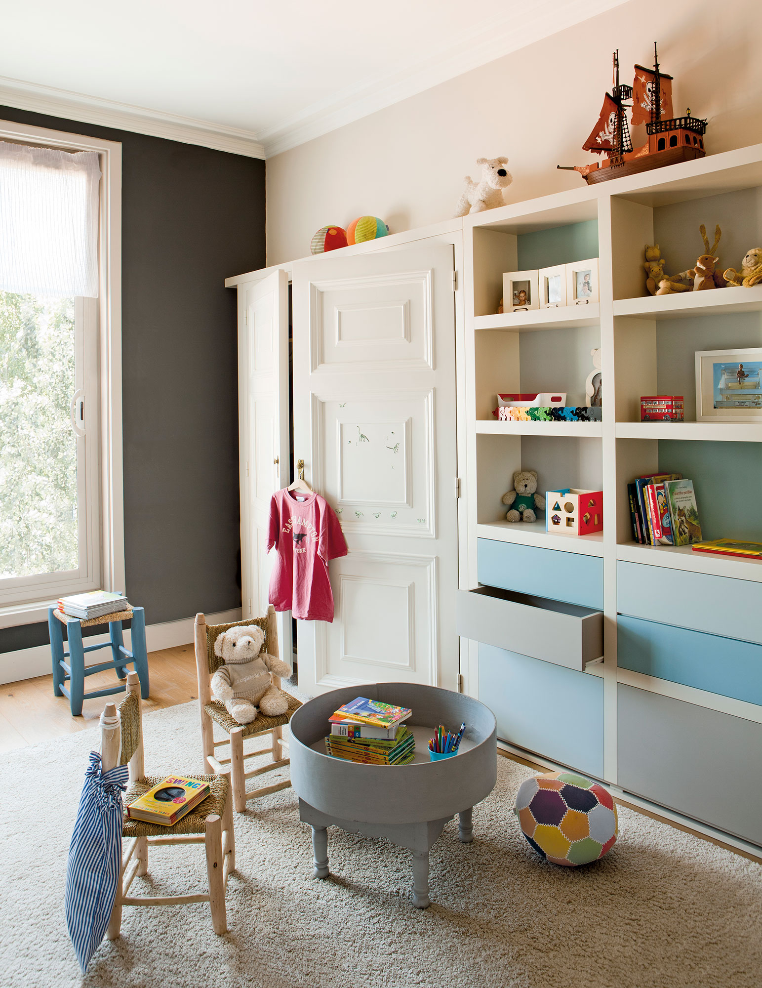 Soluciones para ordenar y guardar los juguetes - Mueble para guardar juguetes ...