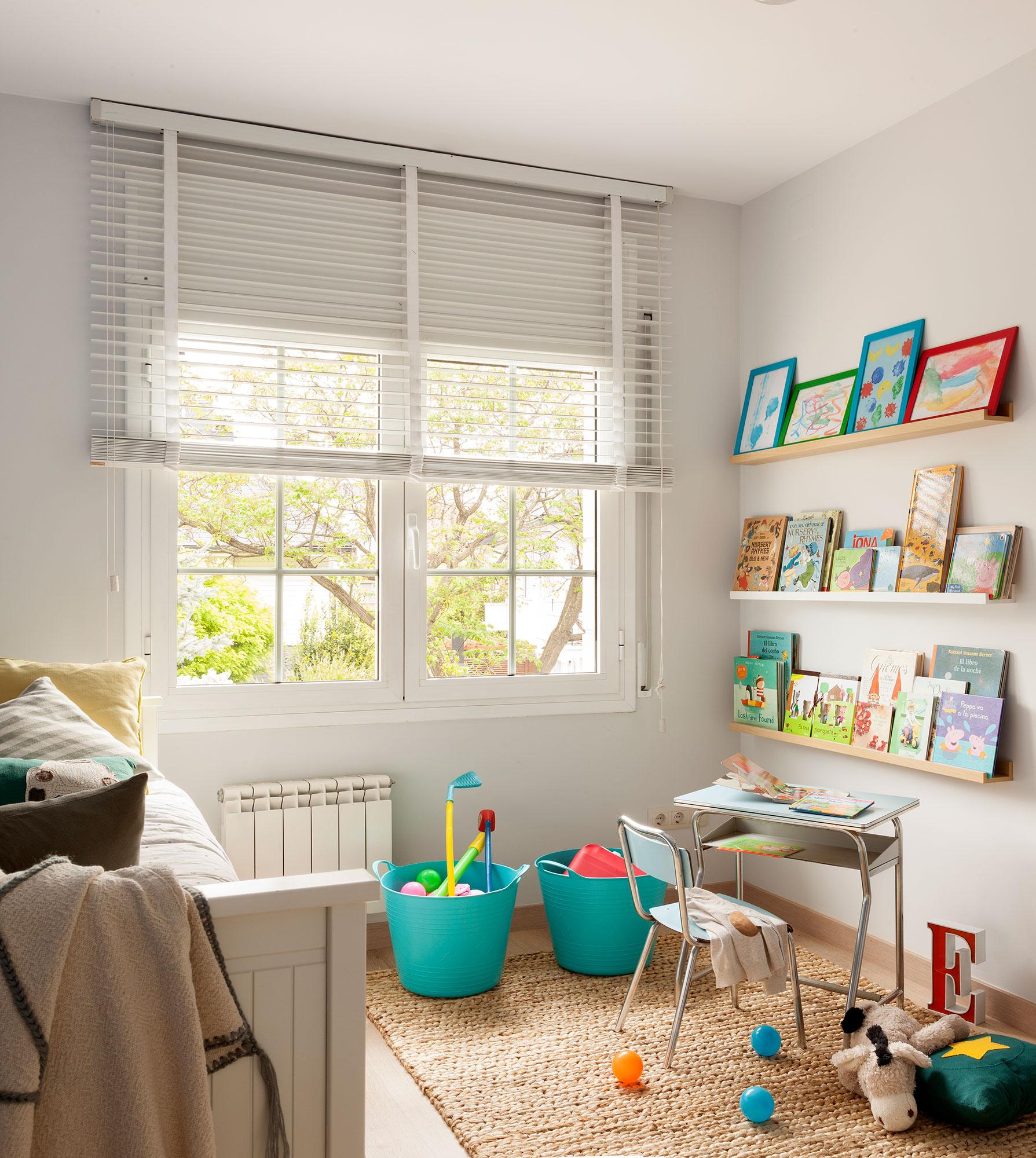 Soluciones para ordenar y guardar los juguetes - Estanterias para habitaciones infantiles ...