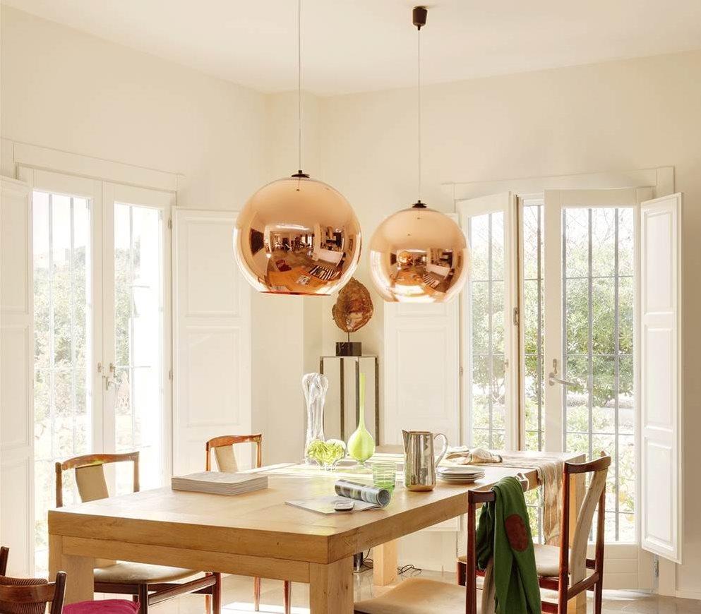 Lamparas para salon comedor perfect decoracin de - Lamparas salon comedor ...