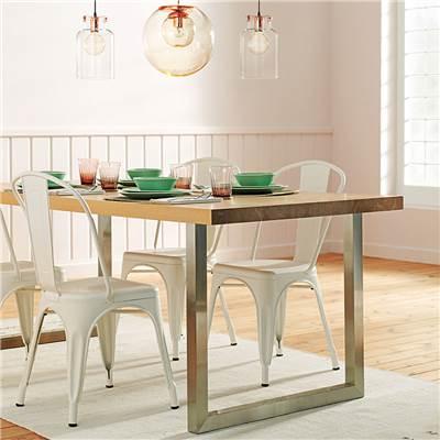 Mesas de comedor - Sillas blancas conforama ...
