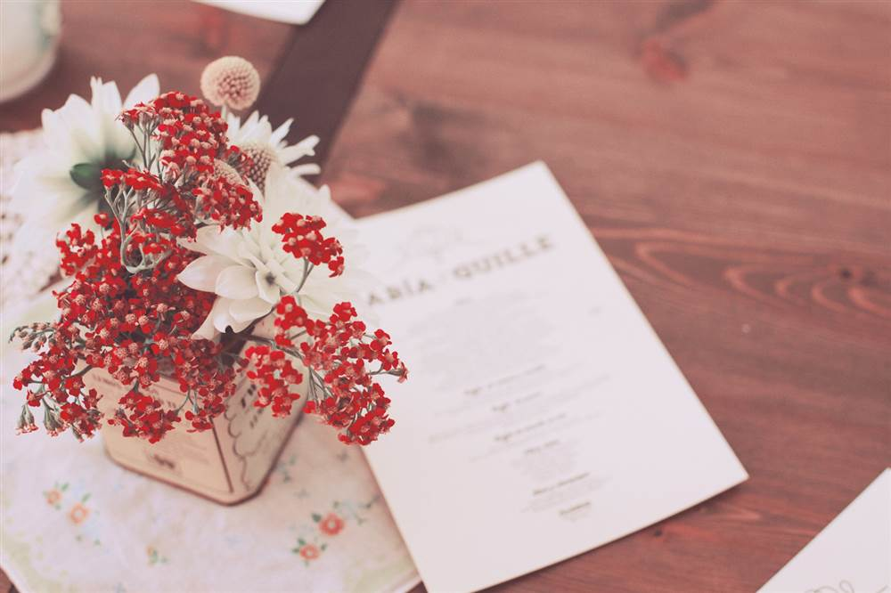 Detalles con flores para tu boda - Detalles para una boda perfecta ...