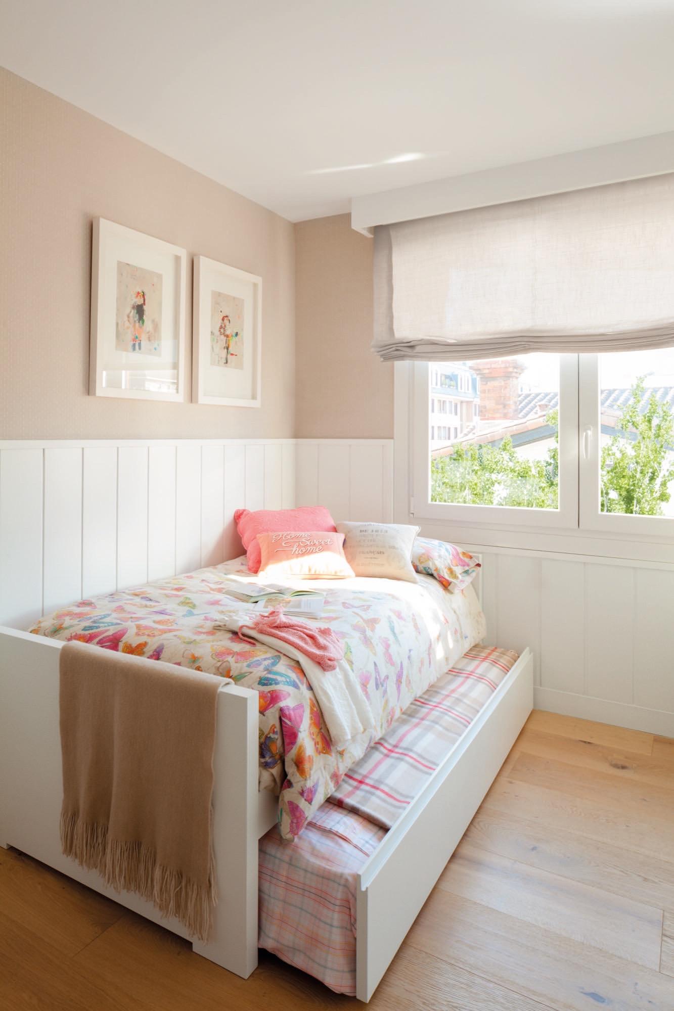 Un piso con historia familiar completamente reformado - Camas sin cabecero ...