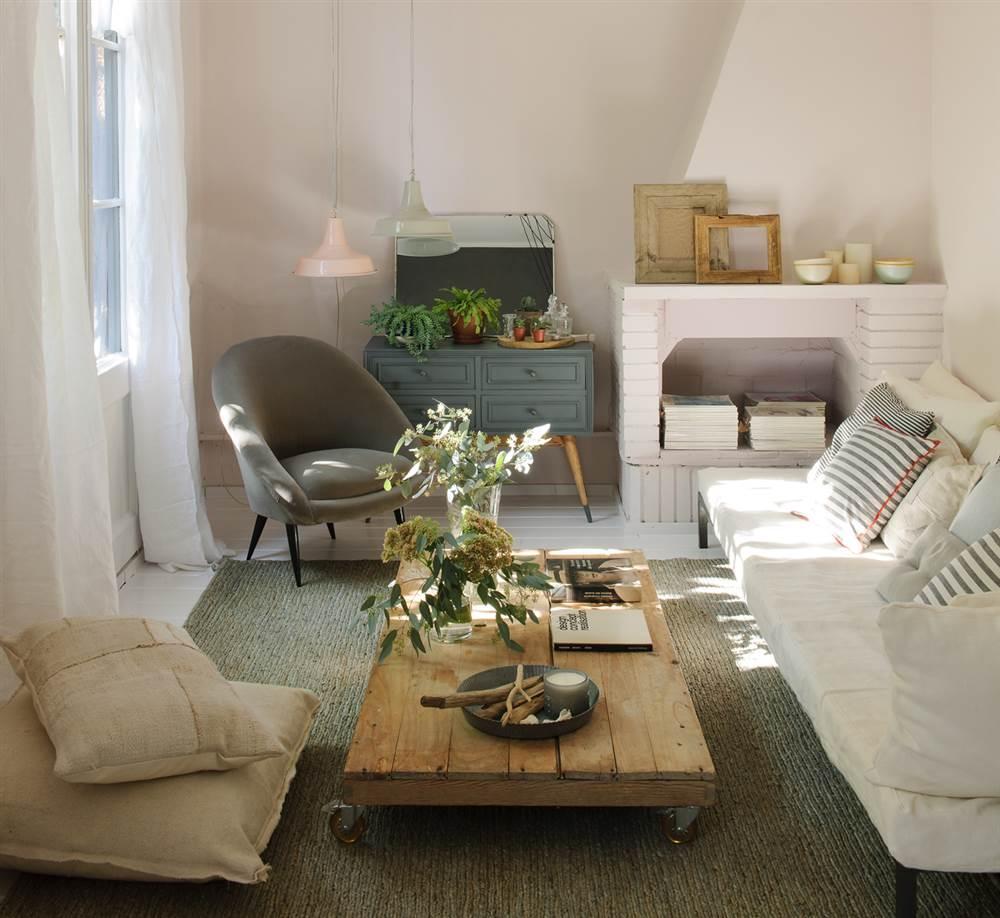 Un piso antiguo devuelto a la vida con la decoraci n for Decoracion piso antiguo