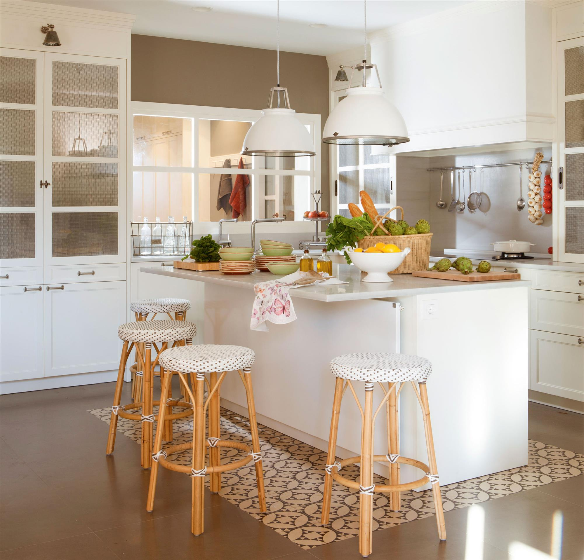 Hidr ulico el mueble - Suelos para cocinas blancas ...