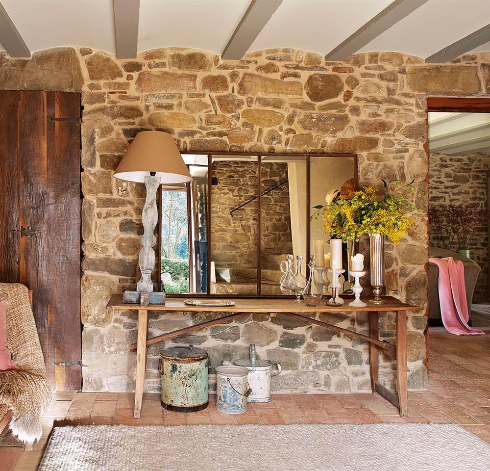 Reforma de una mas a r stica del siglo xvi for Piedra barata para paredes