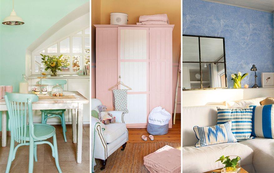 3 colores pastel que nunca pasan de moda - Colores verdes para paredes ...