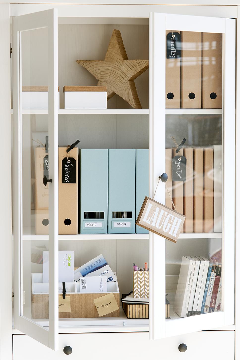 Vitrinas De Dise O De El Mueble ~ Libreria Con Puertas De Cristal