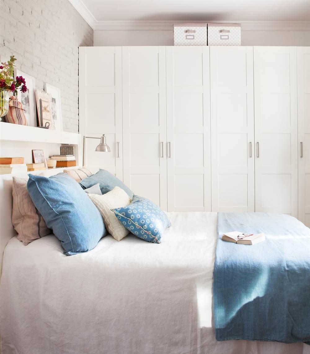 Compartir piso 10 ideas low cost para decorar tu dormitorio - Cabeceros en blanco ...