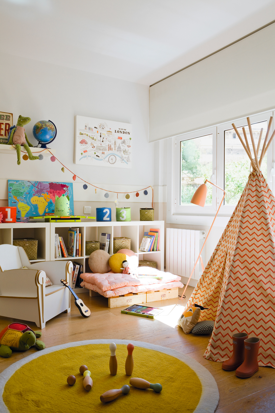 10 ideas para decorar la habitaci n infantil perfecta for Habitacion 3 ninos