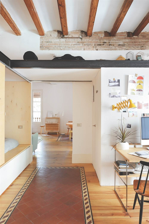 Diez pisos peque os con las mejores ideas para aprovechar for Decoracion de pisos pequenos fotos