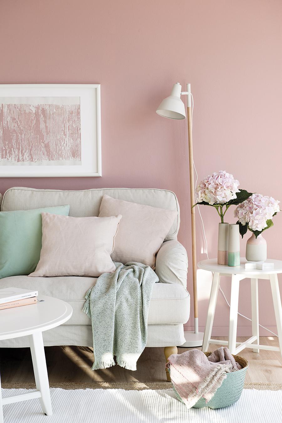 Sigue la regla del 60 30 10 y combina colores con xito for Alfombra azul turquesa del dormitorio
