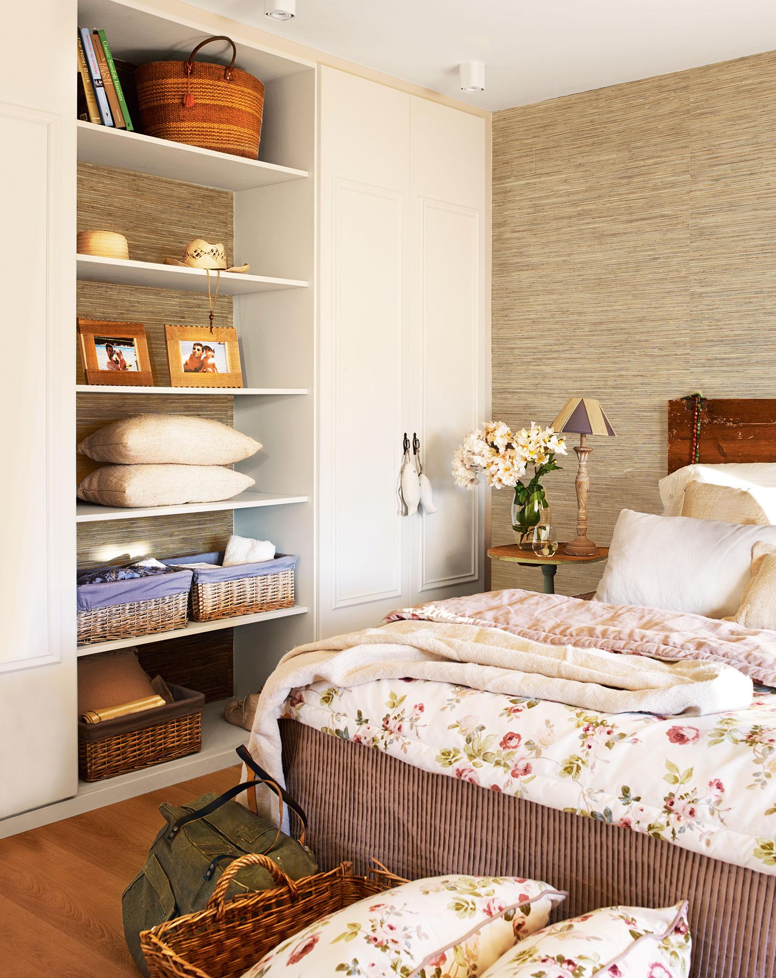 Dormitorio c mo decorarlo y aprovecharlo mejor seg n los metros - Dormitorios con armarios empotrados ...