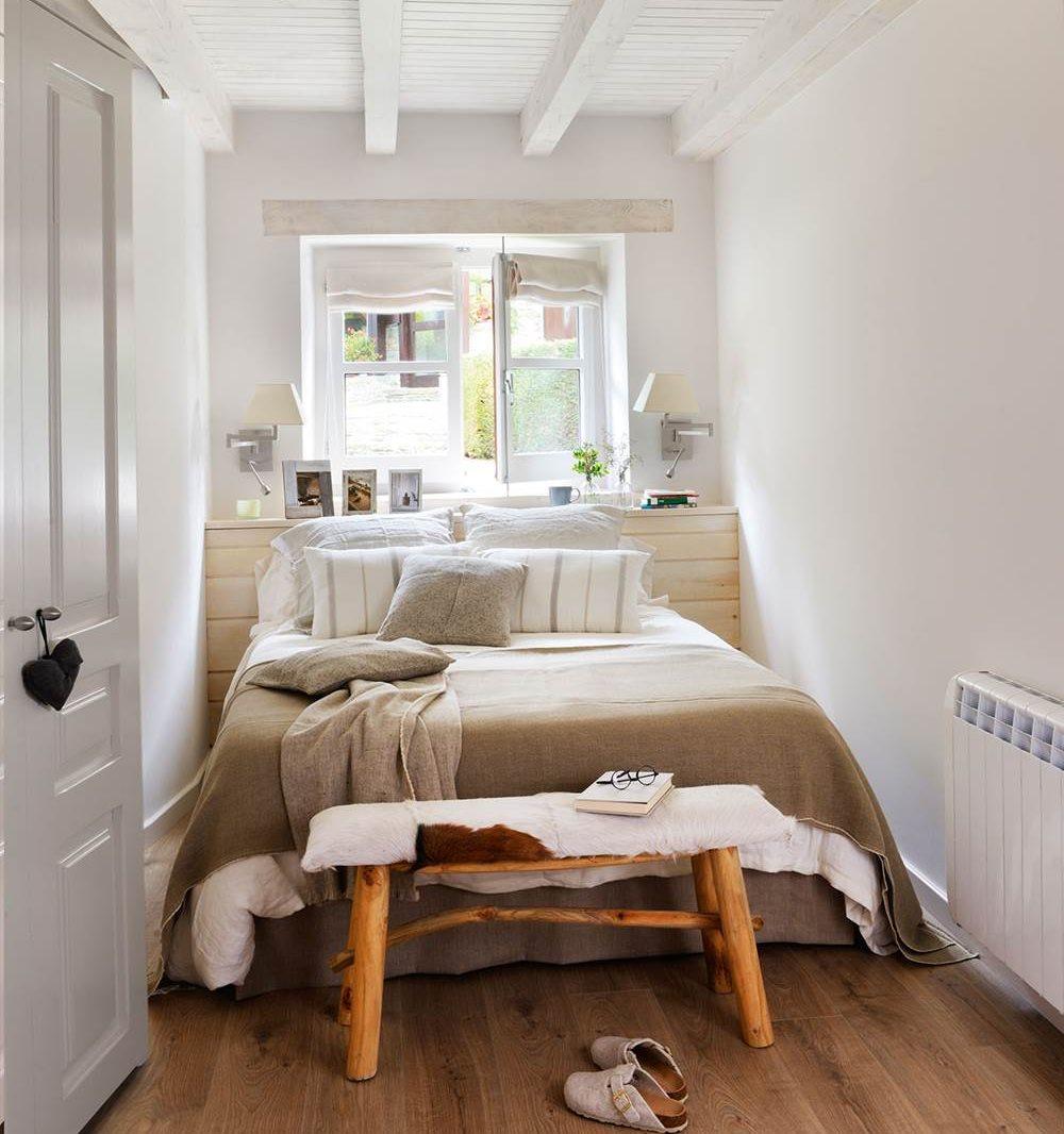 Dormitorio c mo decorarlo y aprovecharlo mejor seg n los - Decorar dormitorio blanco ...