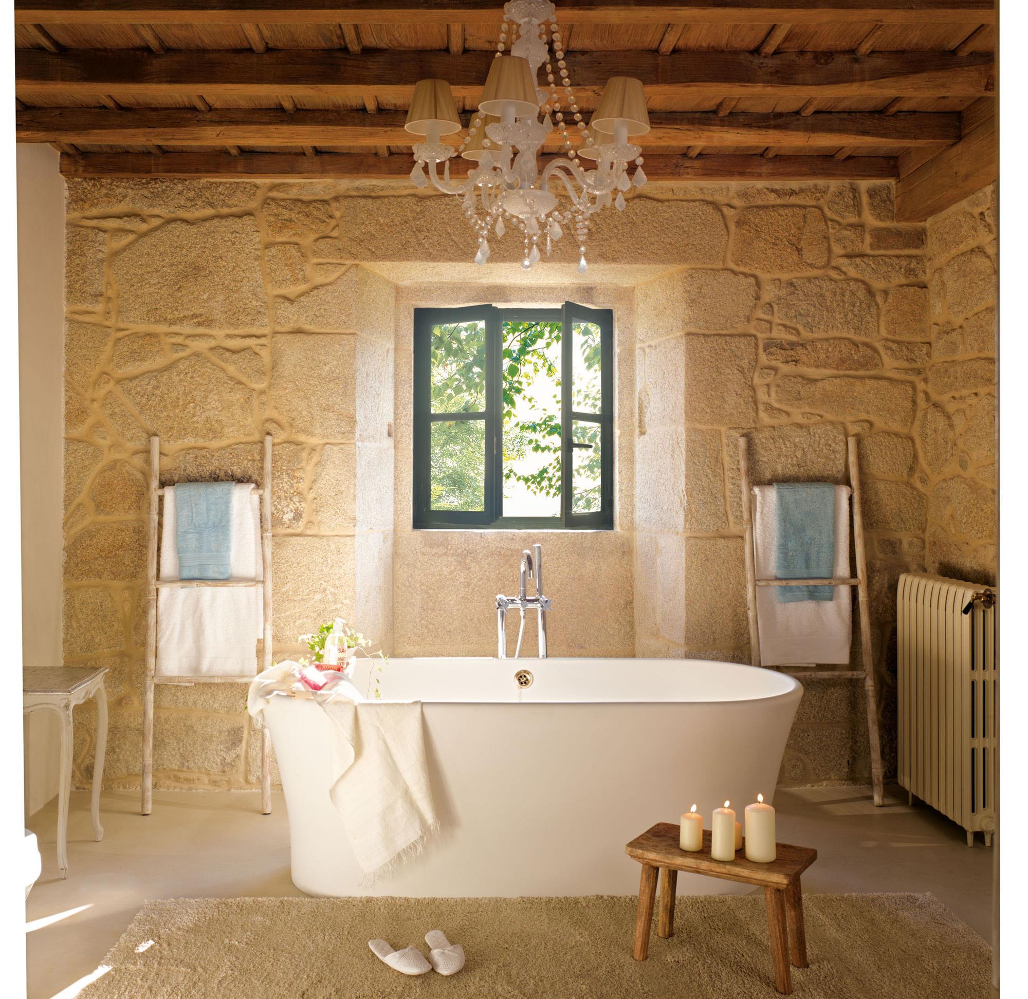 Fotos de ba eras funcionales y decorativas - Banera de bano ...