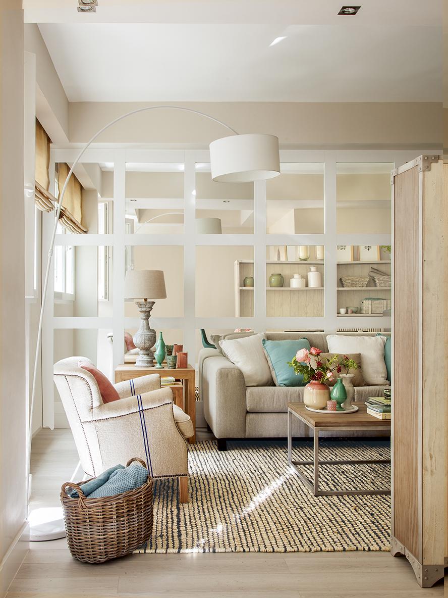 10 salones peque os y grandes urbanos y r sticos llenos de calidez - Colores para salones pequenos ...