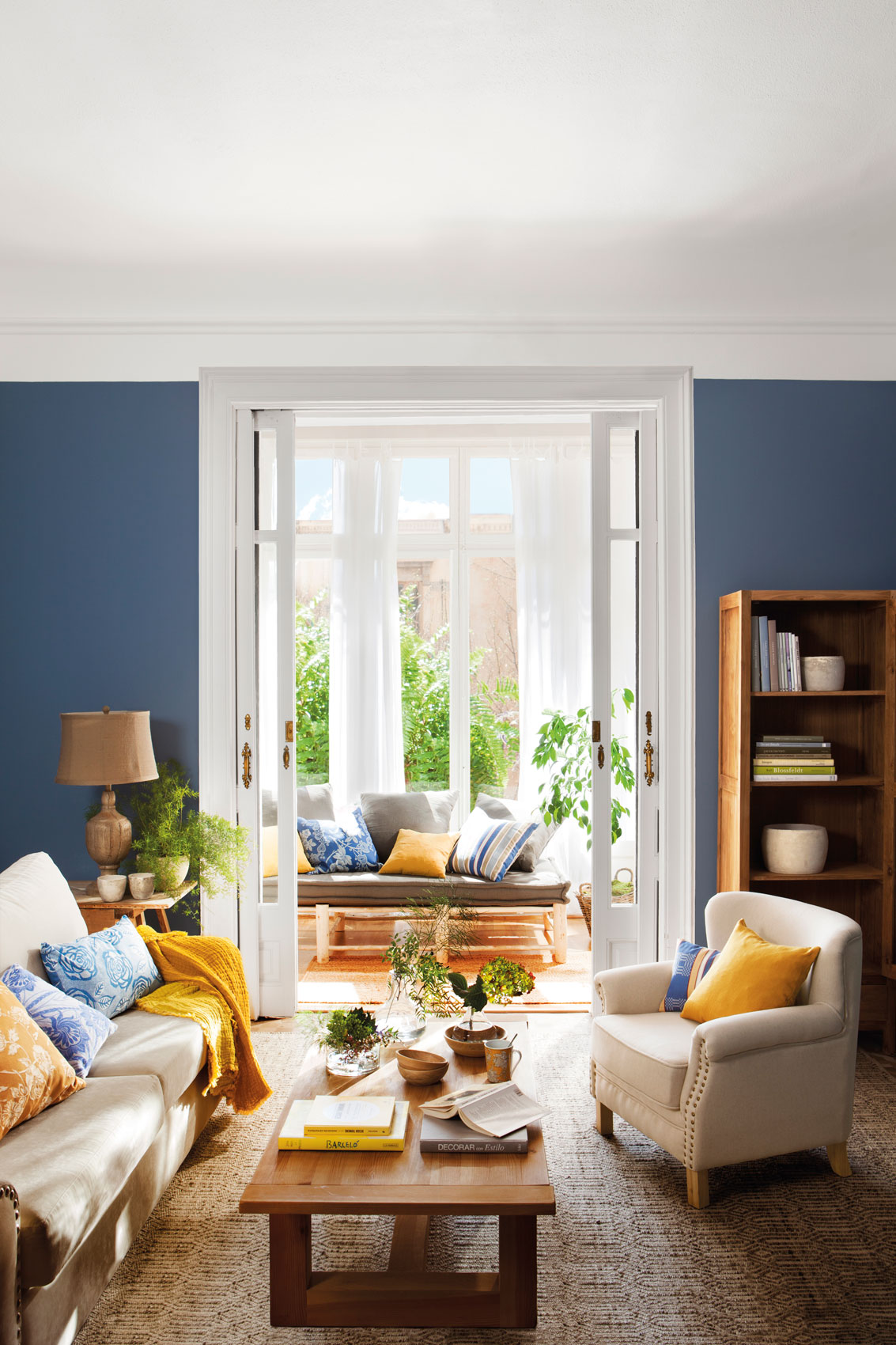 Sigue la regla del 60 30 10 y combina colores con xito - Combinar colores para salon ...