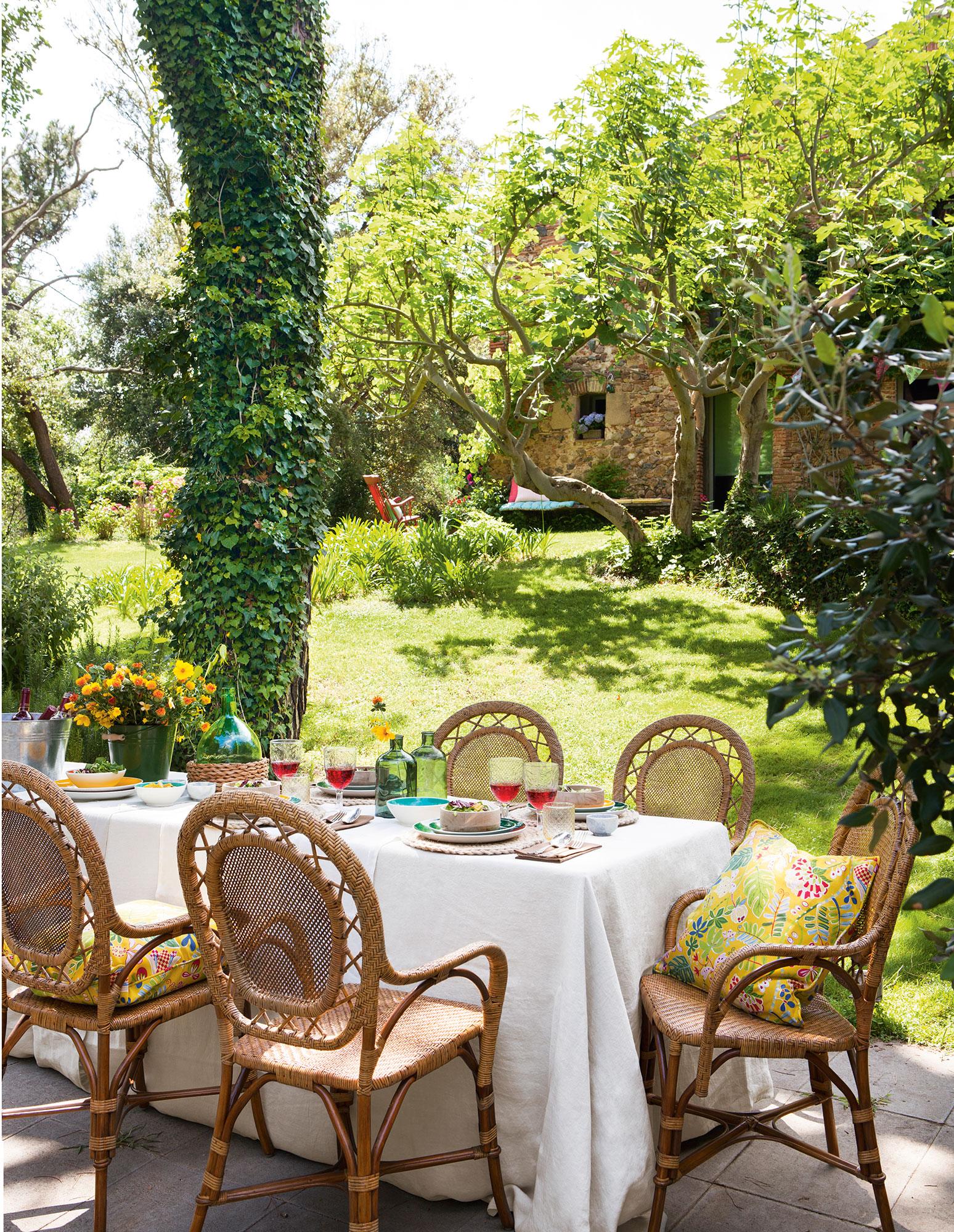 Un Jard N Para Toda La Familia # Muebles Oasis Caseros