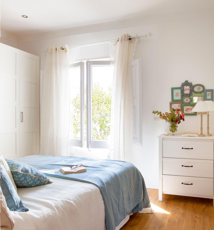 Tips para pintar la casa y no morir en el intento - Dormitorios blancos ...