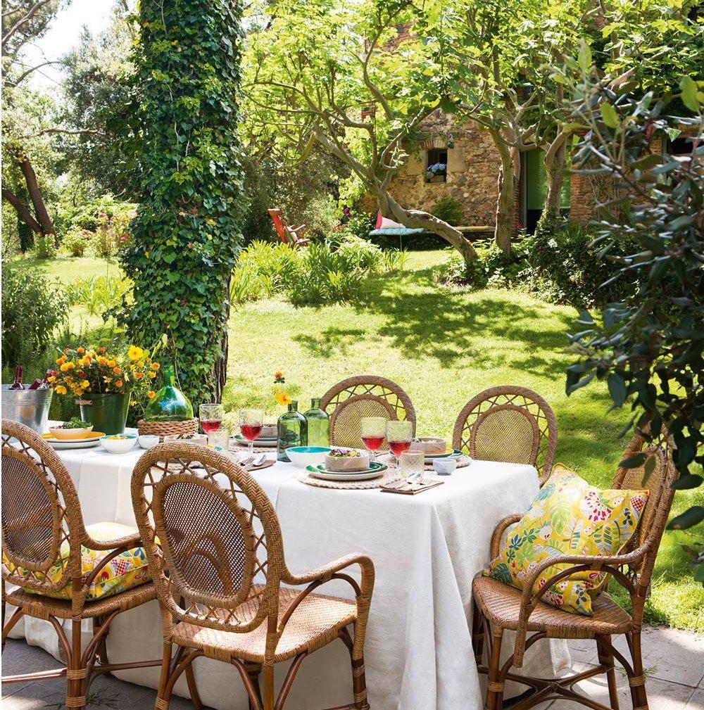 Un jard n para toda la familia for Comedor de jardin