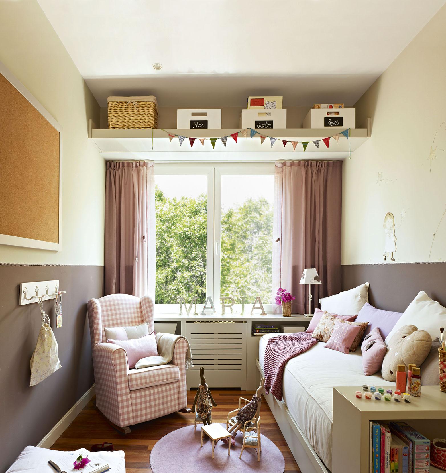 Soluciones para cuartos de ni os peque os - Soluciones para dormitorios pequenos ...