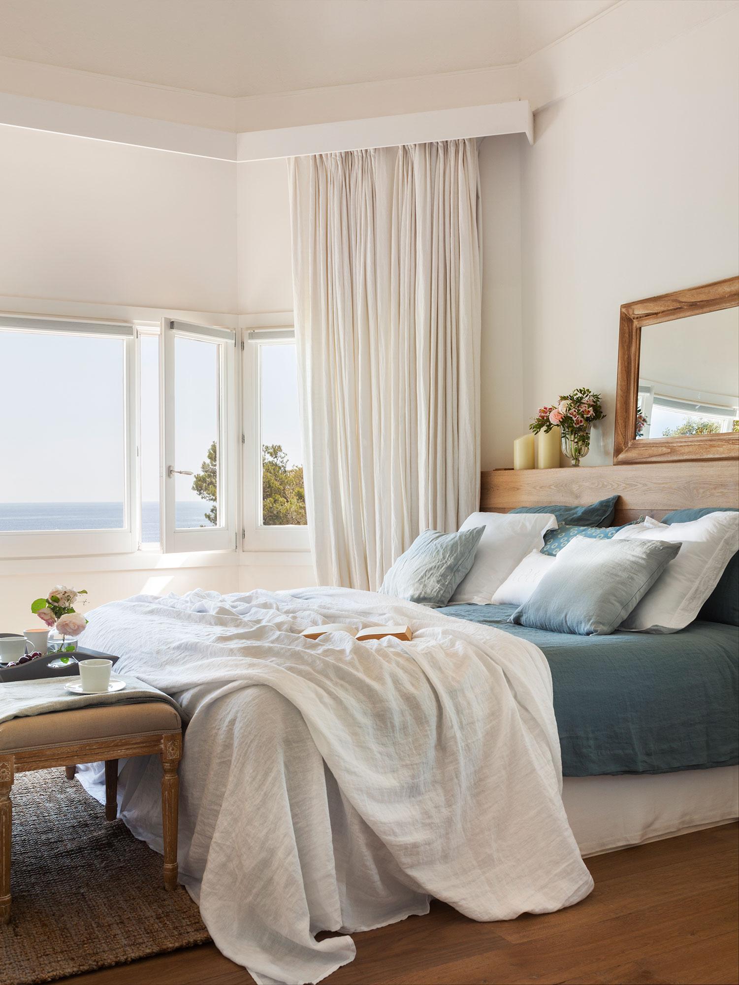 Dormitorios frescos viste tu habitaci n para el verano for Ropa cama matrimonio