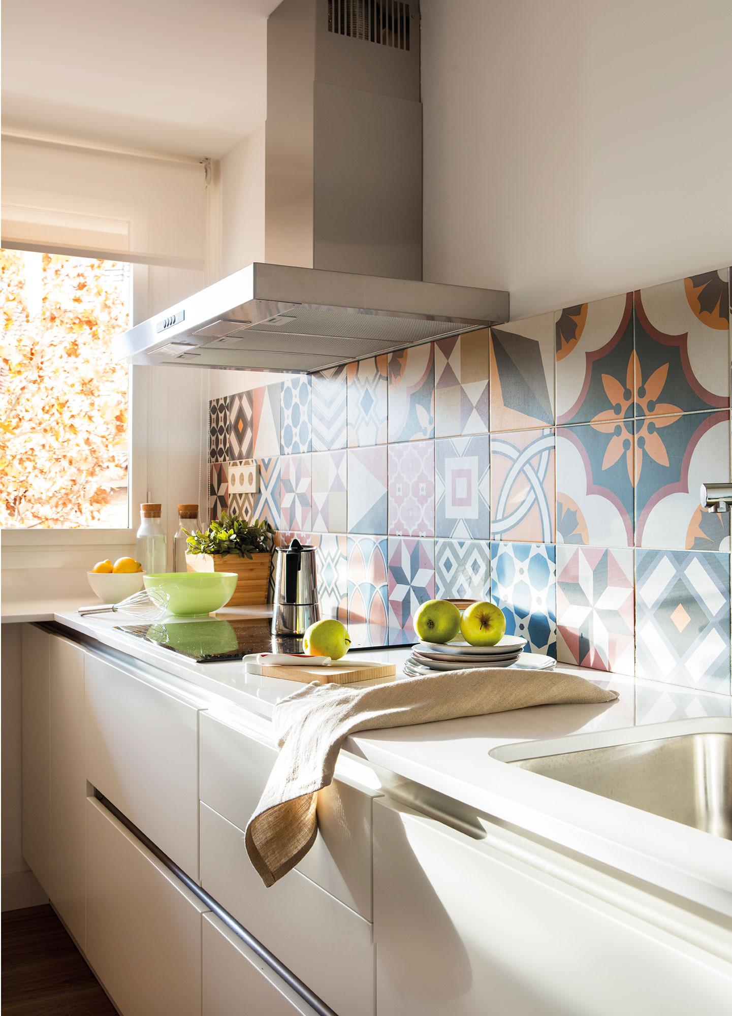 Una casa m s saludable for Pinturas para baldosas